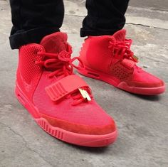 The Air Yeezy is the first collaboration between Nike and someone who isn't an athlete. They're also released in only limited quantities. Only 3000 pairs were released for the first edition in 2009. In 2012, for the second edition, the quantity was cut back to 1000. The first edition sold for $275 a pop and second for $250. They're a sneakerhead's dream because of the limited quantities and they sell for over $2500 a pair on the secondary market. Does Kanye know how to market? Yes, he does.
