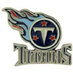 """NFL Tennessee Titans Logo Pin 1"""" by FindingKing. $11.99. This is a new NFL Tennessee Titans Logo Pin 1"""""""