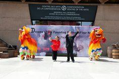 Dancing Dueling Dragons