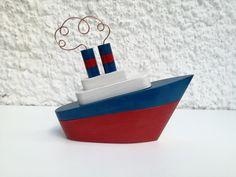 10 X Boat Wooden Nautical Pendant Baltic Sea Nautical Decorative Boat Cottage Summer...