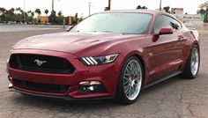 RUBY RED S550 MUSTANG Thread