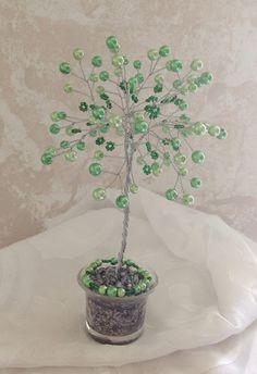 Rosa Enid Cruz Roque: Wire Tree 030 - Lime Tree