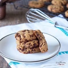 Egg-free Chocolate Chip Cookies (Paleo, Vegan)