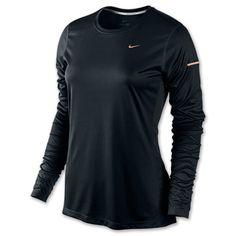 Women's Nike Miler Long Sleeve Running Shirt