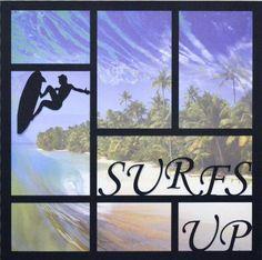 EZLaserDesigns : Surfs Up