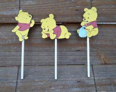Winnie the Pooh Cupcake Wrappers-Pooh by YellowFlowerDesigns