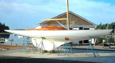 Vixen, 15 meters square by Knud Reimers, RM 2018 04 27 Classic Sailing, Classic Yachts, Yacht Design, Boat Design, Wooden Sailboat, Vintage Boats, Wood Boats, Yacht Boat, Small Boats