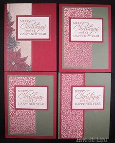 nov28 3 One Sheet Wonder Christmas Cards