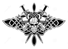 Celtic Swords and Skulls