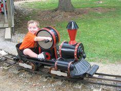 Hand-cranked Train Ride