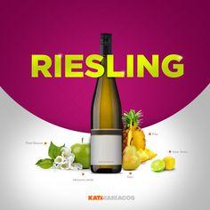 Los aromas que el vino nos da para que podamos disfrutarlo: Riesling!