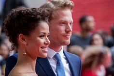 Gugu Mbatha-Raw and Sam Reid Marpessa Dawn, Sam Reid, Cute Couples, Mixed Couples, Bwwm, Interracial Couples, Period Dramas, Most Beautiful Man, Celebs