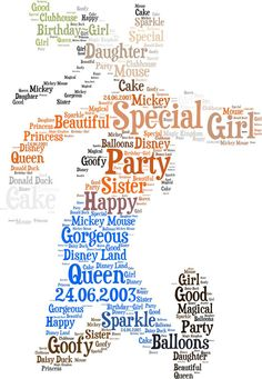 8 simple steps to using tagxedo to create personalized word cloud framed disney word cloud art goofy gumiabroncs Gallery