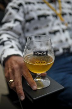 A cold one at Sonoma Hopmonk Tavern at #siff11  We like beer too!
