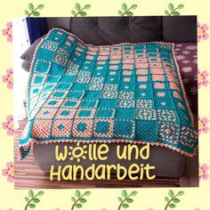 Aktiv, Blanket, Crochet, Cordial, Handarbeit, Ganchillo, Blankets, Cover, Crocheting