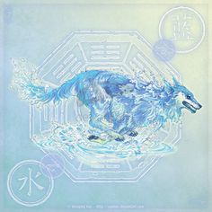 Wolf of Water by yuumei.deviantart.com on @deviantART