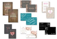 Invites 4 All Personalized Wedding Invitation Suites