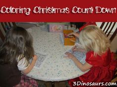 Coloring Christmas Count Down