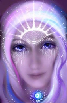 We are the priestesses...We are stellar creations awakening of our spiritual lethargy collecting Divine Feminine ancestral, lunar memories in search of our consciousness...
