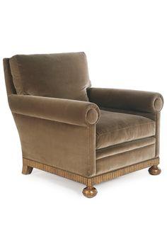 Morris Club Chair (#5006) by Dessin Fournir   Upholstered Chairs   Dessin Fournir Companies