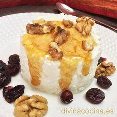 Aquí tienes una receta fácil para preparar requesón casero fresco y natural, con todo el sabor, para tus mejores postres, o para servir con miel y furos secos