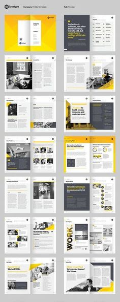 Word mask over image. Booklet Design Layout, Company Profile Design Templates, Company Brochure Design, Design Portfolio Layout, Page Layout Design, Graphic Design Brochure, Corporate Brochure Design, Magazine Layout Design, Web Design