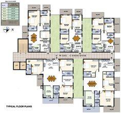 Apartment Building Blueprints apartment unit plans | modern apartment building plans in 2013
