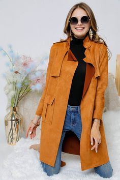 The Sarah Trench Trench, Duster Coat, Comfy, Boutique, Casual, Jackets, Collection, Style, Fashion
