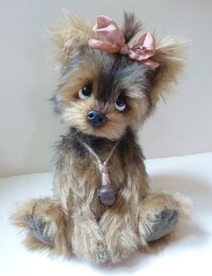 Cupcake the little Yorkie ...by Paula Drage