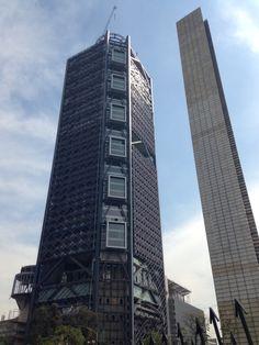 Monumento al bicentenario & Torre Bancomer.