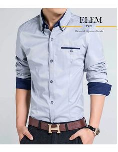 Camisas Sport Hombre Elegante Fit Slim Mod019 - U$S 49,99 en Mercado Libre Chef Jackets, Shirt Dress, Mens Tops, Shirts, Dresses, Fashion, Sewing Techniques, Fashion Clothes, Free Market