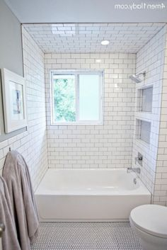 Top Modern Bathroom Shower Ideas For Small Bathroom - Page 73 of 169 Diy Bathroom Remodel, Bath Remodel, Bathroom Renovations, Bathroom Makeovers, Kitchen Remodeling, White Bathroom, Modern Bathroom, Master Bathroom, Attic Bathroom