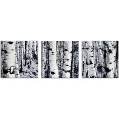 Forest Metal Wall Art ($119) ❤ liked on Polyvore featuring home, home decor, wall art, photo wall art, wall panels, metal wall panels and metal home decor