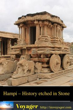 Hampi – History etched in Stone Hampi is a UNESCO world heritage site situated on the banks of the river Tungabhadra in… http://itz-my.com