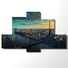 London wall art - 135x85 cm