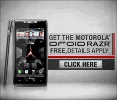 Looking for Free Motorola Droid Razr? Check this