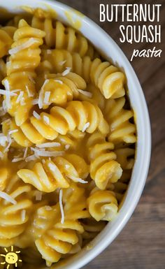 EAT: Butternut Squash Pasta  #butternutsquash #pasta #delicious #recipe #kidfriendly