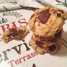 Biscotti vegani con farina di kamut e gocce di cioccolato | Tortinsù