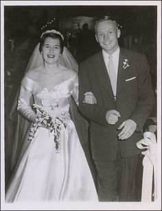 Neil Armstrong and Janet Shearon married on January 28, 1956.  Son Eric arrived in 1957, followed daughter Karen in 1959. Sadly, Karen died of complications related to an inoperable brain tumor in January 1962. The following year, the Armstrong's welcomed their third child, son Mark.  The couple divorced in 1994.