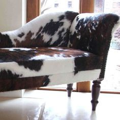 Cowhide chaise lounge if only I had the room : cowhide chaise lounge - Sectionals, Sofas & Couches