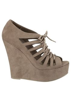 super cute wedges! these would look cute with black tights in the winter. only $34!