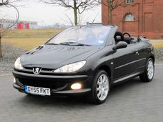 2005 PEUGEOT 206 CC 1.6 COUPE CABRIOLET CONVERTIBLE SPORT BLACK * LOW INSURANCE www.thecarwarehouse.co.uk £2495