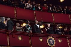 Barack Obama Photos Photos - (L-R) 2016 Kennedy Center Honorees pianist Martha Argerich, singer James Taylor, singer Mavis Staples, first lady Michelle Obama and President Barack Obama attend the Kennedy Center Honors show December 4, 2016 at the Kennedy Center in Washington, DC. The honorees include the band The Eagles, singer Mavis Staples, actor Al Pacino, singer James Taylor and pianist Martha Argerich. - 39th Annual Kennedy Center Honors