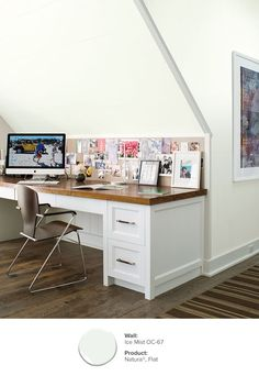 Delicieux Paint Ideas And Inspiration. Home Office ColorsHouse ...