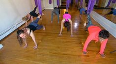 Alternative workouts: A look at aerial yoga