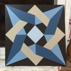 Barn Quilt Patterns for Quilts - Bing images Barn Quilt Designs, Barn Quilt Patterns, Pattern Blocks, Quilting Designs, Sewing Patterns, Star Quilts, Quilt Blocks, Painted Barn Quilts, Applique Designs