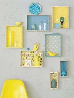 Arquiteta Thati Struckel: Reciclar e decorar - caixotes de feira