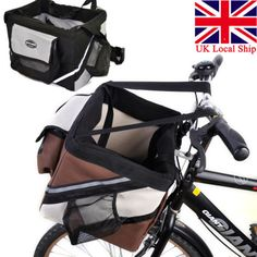 Uk ship pet dog #bicycle bike front basket box carrier #outdoor #travel folding b,  View more on the LINK: http://www.zeppy.io/product/gb/2/221556737237/