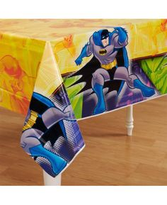 Batman Brave and The Bold Plastic Tablecover