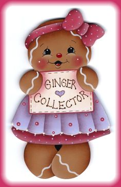 Ginger Collector Gingerbread Painting E-Pattern